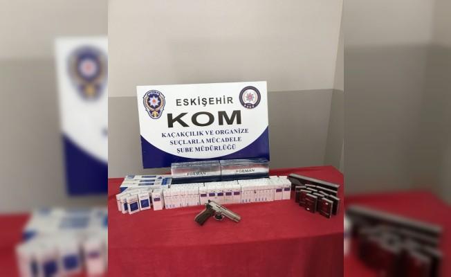 Eskişehir'de kaçak sigara operasyonu