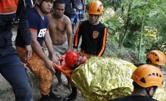 Filipinler'de toprak kayması: 5 ölü