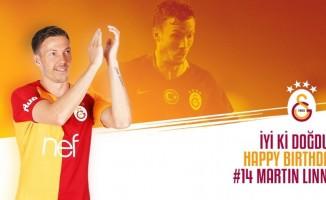 Galatasaray, Martin Linnes'in doğum günü kutladı