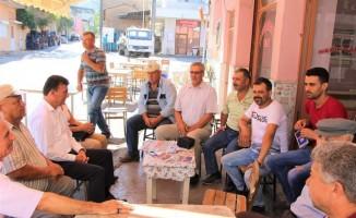 Germencik Belediye Başkanı Ümmet Akın, çalışmalarına devam ediyor