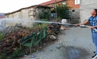Gölbaşı Kaymakamlığı köylere yangın söndürme sistemi kuruyor