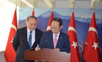 Güney Kore Ankara Büyükelçisi Hong-Ghi Choi Artvin'de