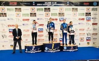 İlkadım Belediye sporcusu Hamidiye Yavuz dünya şampiyonu oldu