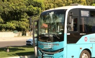 Kahramanmaraş'ta halk otobüsleri çarpıştı: 7 yaralı