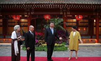 Kamboçya Kralı Sihamoni Çin'de