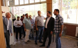 Karaköprü Doğukent'e okuma evi kazandırılıyor