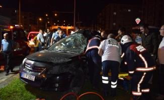 Malatya'da feci kaza 1 ölü 1 yaralı