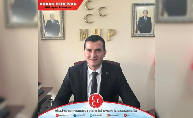 MHP Aydın İl Başkanı Burak Pehlivan: ADÜ'lü öğrenci öğretim görevlilerine başarı diledi