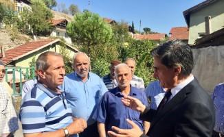 Milletvekili Güneş'ten mahalle ziyareti
