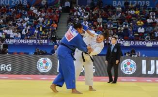 Milli Judocu Kayra Sayit, Dünya Judo Şampiyonası'nda bronz madalyanın sahibi oldu
