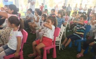 Minikler lezzet yarışı yaptı, aileleri heyecanla izledi