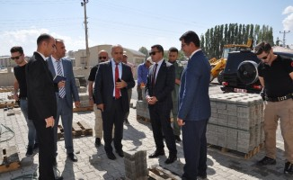 Muş Alparslan Üniversitesi Rektörü Polat, Bulanık MYÖ binasında incelemede bulundu