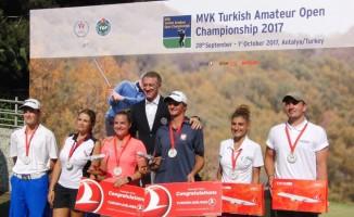 MVK Uluslararası Türkiye Amatör Açık Şampiyonası Antalya'da başlıyor