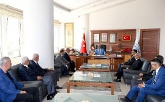 Şehit ve Gazi Derneklerinden Başkan Polat'a Ziyaret