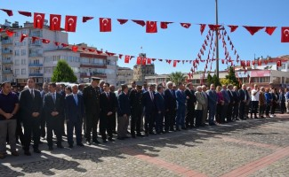 Sinop'ta Gaziler Günü kutlandı