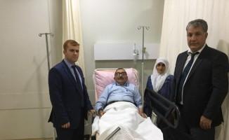 Tatvan'da Gazilere anlamlı ziyaret