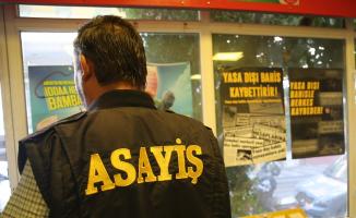 Tekirdağ'da iş yerlerinde yasa dışı bahis uygulaması