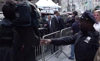 Trump, Macron ile görüştü