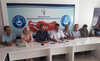 """Türk Eğitim-Sen Balıkesir 1 Nolu Şube Başkanı Baki: """"Eğitim ödeneği bir maaş tutarında olsun"""""""