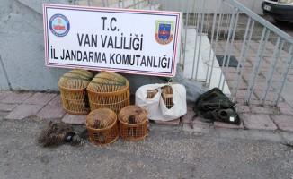Van Dkmp'den keklik avcısına ceza