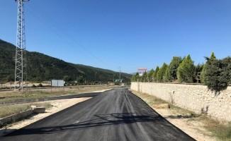Yazıköy yolunda asfalt çalışmaları başladı