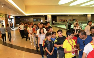Yeni Malatyaspor'a taraftar ilgisi