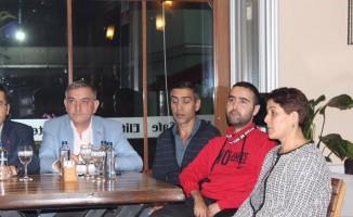 4 partinin il başkanı DMD hastası genç için yardım topladı