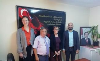 ABD'nin Adana Konsolosluğundan Mersin Çocuk Hakları Komitesi'ne ziyaret
