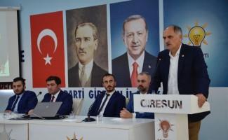 AK Parti Giresun İl Gençlik Kolları Danışma Meclis Toplantısı gerçekleşti