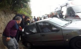 Akçakoca'da trafik kazası: 3 yaralı