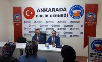"""""""Ankara'da Birlik Sohbetleri"""" başladı"""