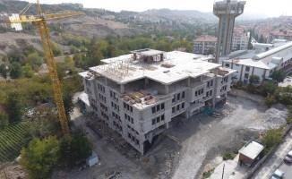 Ankara'da inşaatlar hızla devam ediyor