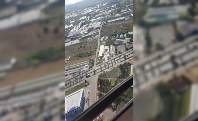 Antalya'da helikopter ve dron destekli trafik denetimi