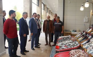 Balıkhan ilk ziyaretçileri Özak ve Bayram oldu