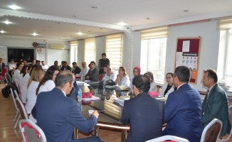 Başkan Asya'dan, Muş Mesleki ve Teknik Anadolu Lisesi'ne Ziyaret
