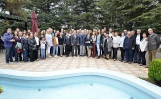Başkan Ataç, Muhacir Dernekleri Federasyonu'na bağlı derneklerin üyeleri ile buluştu