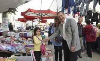 Başkan Ataç pazar ziyaretlerine devam ediyor