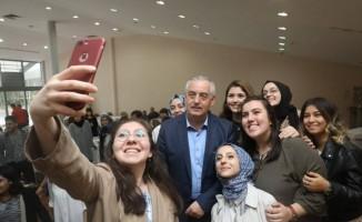 Başkan Aydın, Simurg öğrencileriyle buluştu