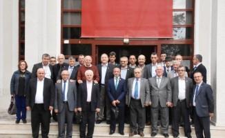 Başkan Eşkinat, Süleymanpaşa muhtarlarını ağırladı