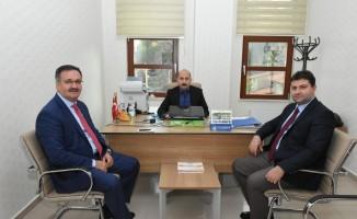 Başkan Güney'den KOSGEB Kızılcahamam Temsilcisi Ali Aydın'a ziyaret