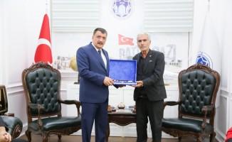 Başkan Gürkan, Şehit Fethi Sekin'in ailesini ağırladı
