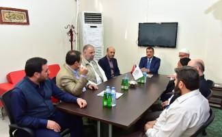 Başkan Gürkan, Semerkand Vakfı yöneticileri ile istişarede bulundu