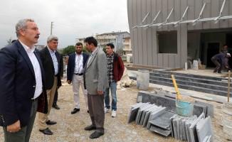 Başkan Karaosmanoğlu'ndan inşaat incelemesi