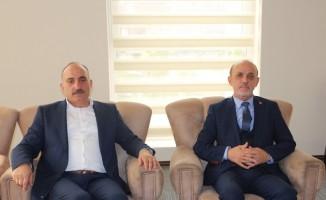 Başkan  Kılıç'tan, Başkan Öztürk'e ziyaret
