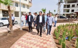 Başkan Menderes Atilla, park çalışmalarını yerinde inceledi