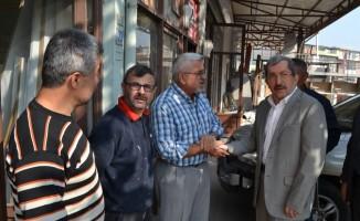 Başkan Vergili Bağ-Essan Sanayi Sitesi esnafları ile bir araya geldi