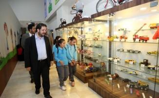 Başkan Yazgı, çocuk aktivite merkezinde inceleme yaptı