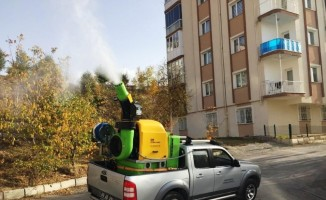 Bayburt Belediyesi ilaçlama mesaisine devam ediyor