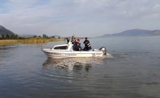 Beyşehir Gölünde kaçak avlanmaya karşı denetimler yapıldı