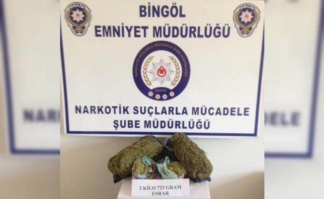 Bingöl'de 5 ayrı uyuşturucu operasyonu